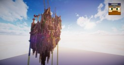 Floating Steampunk Island  'Columbia' - TheJovi Minecraft Project