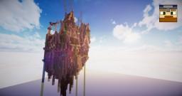 Floating Steampunk Island  'Columbia' - TheJovi Minecraft