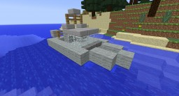 Namacurra Class Harbor Patrol Boat Minecraft Map & Project