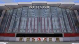 Raver Stadium [Football/Soccer Stadium] Minecraft Map & Project