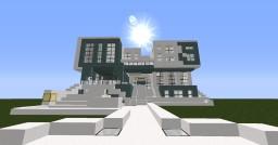 Snowfall Modern House Minecraft Map & Project