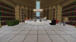 custom tardis with dalek , mrcrayfish furniture and bibliocraft mods Minecraft