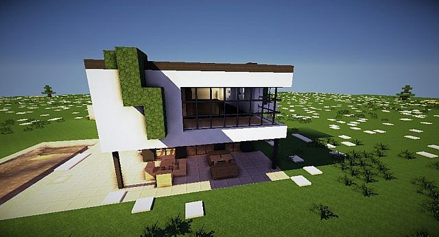 Скачать Карта Красивые дома для Minecraft 1.7.2
