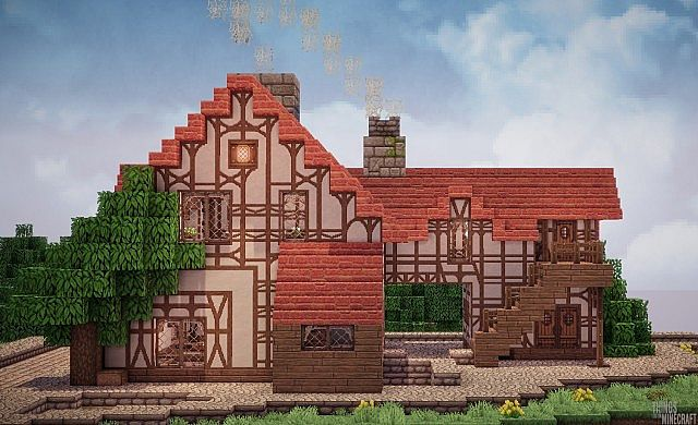 how to build a bakery in minecraft