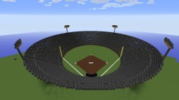 Baseball Field Minecraft Map & Project