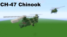 Boeing CH-47 Chinook [Helicopter] by CaptainCarlo Minecraft Map & Project