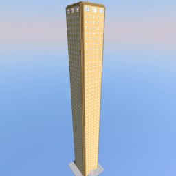 City Hall Tower (Wooden Tower) [V2] Minecraft Project