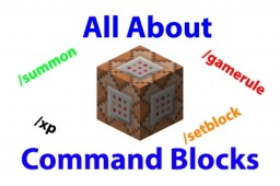 All About Command Blocks! Minecraft