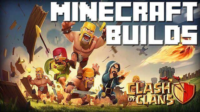 Minecraft Clash of Clans