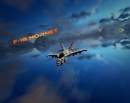 F-18 Hornet Minecraft Project