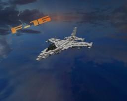 F-16 Jet Fighter Minecraft Project
