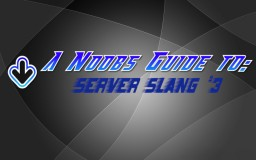 A Noobs Guide to: Server Slang #3 Minecraft