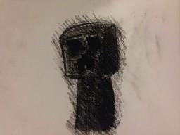 -=Charcoal drawings=- (WIP.) POPREEL!!!!! Minecraft Blog