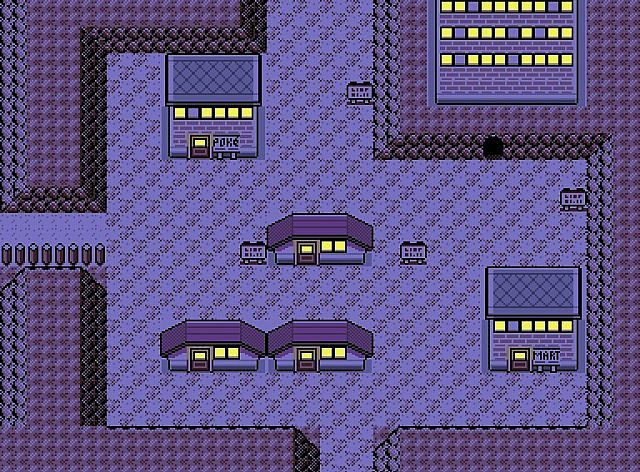 pokemon fire red how to get to lavender town