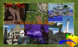 Lord of the Rings | Map of Middle Earth | Special Hommage to J R Tolkien and C Tolkien Minecraft Map & Project