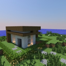 Tiny house Minecraft Map & Project