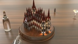 Compact Cathedral Minecraft Map & Project