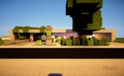 Nova - Modern House Minecraft Project