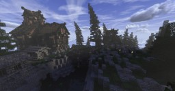 Peasant Town Minecraft Map & Project