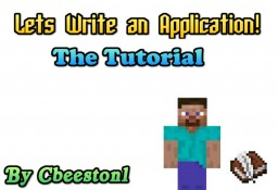 Lets write an application(Tutorial) Minecraft Blog Post