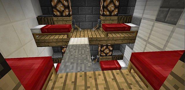 Interior of housing unit