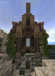 Fantasy House + Tower Minecraft