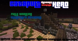 Catapult Hero- [Working Minecraft Catapult] Minecraft Project
