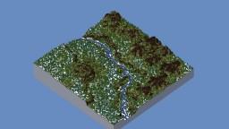 Spring is Near - Custom World Painter Map Minecraft Project