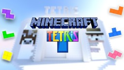 TETRIS IN MINECRAFT (Game) | Automatic Minecraft Project