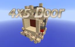 4x5 Door Minecraft