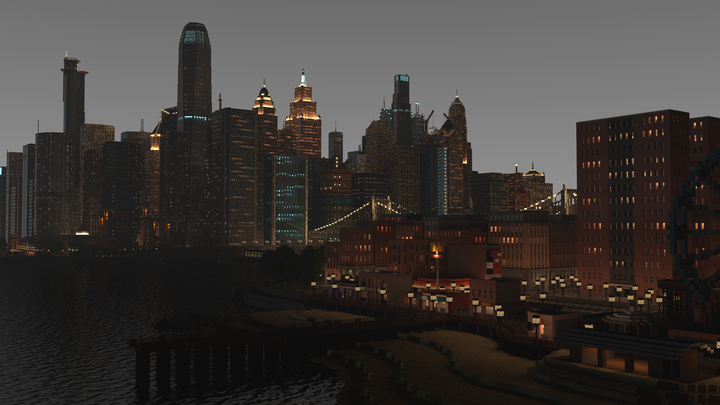 I couldn't render the lights better