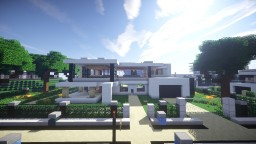 Modern House Project #2 Minecraft Map & Project