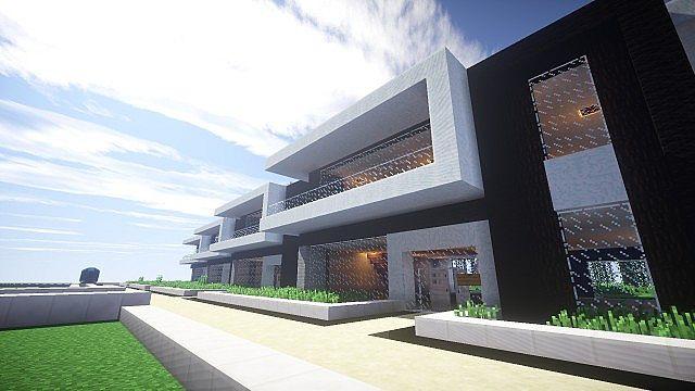 Modern terraced house 2 minecraft project for Modern terraced house decor