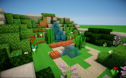 Garden Minecraft Map & Project