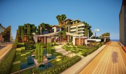 Modern House Plot Minecraft Map & Project