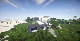 Modern House near a forest Minecraft Map & Project