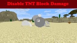 Disable TNT Block Damage Minecraft Map & Project