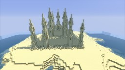 The Sand Castle Minecraft Map & Project
