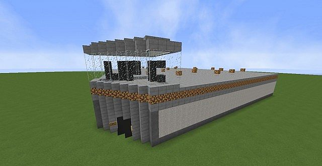 Small Ufc Arena Minecraft Project