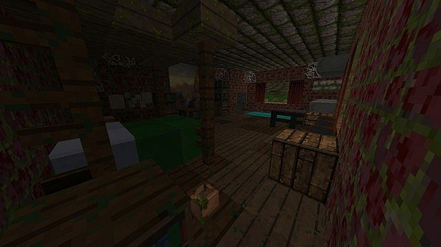 The Last Of Us An Apocalyptic Adventure Game Minecraft - The last of us minecraft map