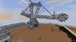 Bucket wheel excavator Minecraft Map & Project