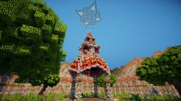 The Lost Gardens Agnvada Hub/Spawn Commission Minecraft Map & Project