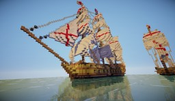 ship of assassin's creed IV Minecraft Project