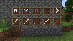 Avatar the Last Airbender Equipment Pack Minecraft Texture Pack
