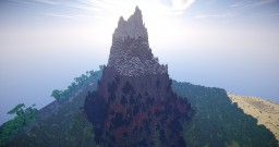 Mt. Karnos - 1k x 1k Custom Terrain Minecraft Map & Project