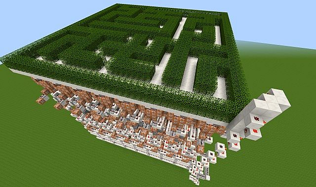 Maze generator Minecraft Project