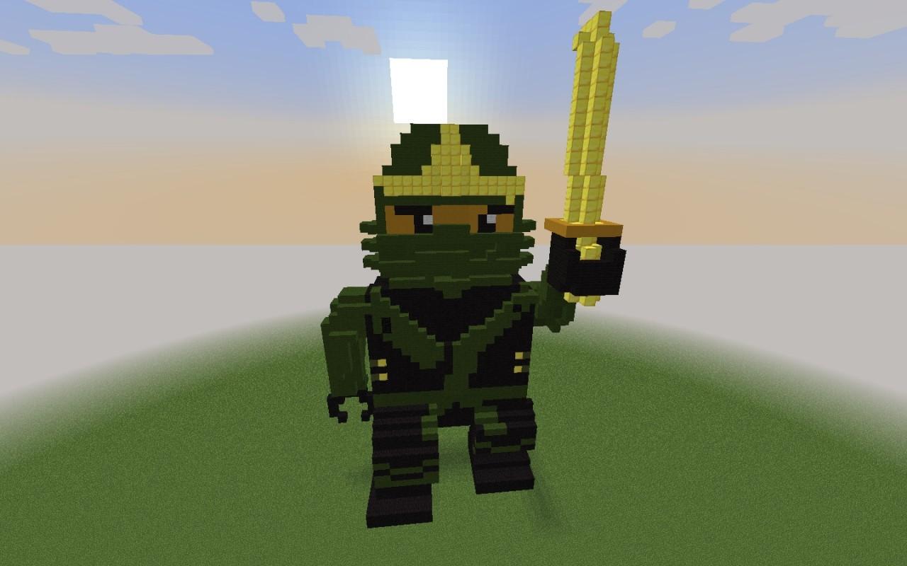 Lego ninjago kimono lloyd minecraft project - Ninjago lego lloyd ...