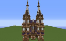 Iron Temple (Unfinished/Preview of start) Minecraft Map & Project