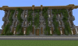 Abandoned Library Minecraft Project