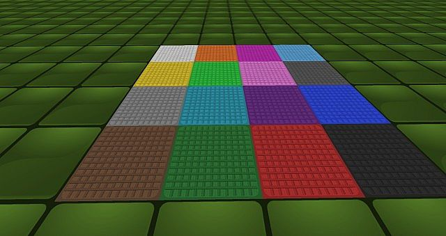 Norsewind's Simply High Res Plastic Craft (256x Size) Minecraft Texture Pack